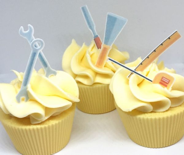 DIY and construction tools edible topper